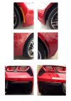 C7 Corvette Side Marker + Reflectors Blackout Kit